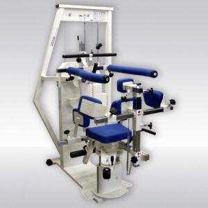 R17 Maşină isokinetică pentru coloana toracică Înclinarea trunchiului